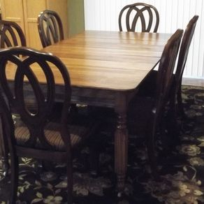 Restored 100 Year Old Antique Table By Timothy J Ziegler