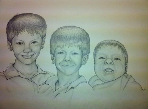 Custom Made 3kid-Portrait