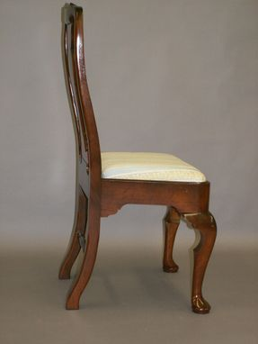 Custom Made Cherry Queen Anne Chair Reproduction