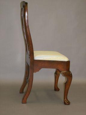 Handmade Cherry Queen Anne Chair Reproduction By John