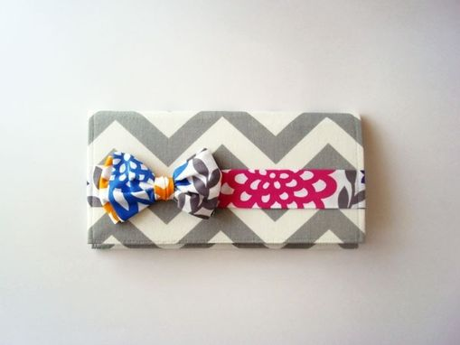 Custom Made Bow Tie Clutches