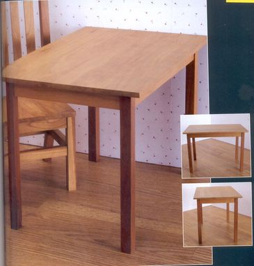 "Custom Made Dining Table For All 18"" Dolls"