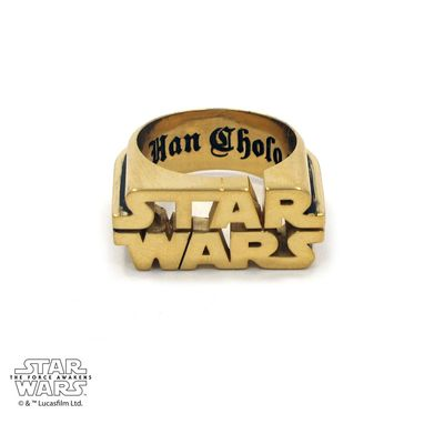 Custom Made Star Wars Logo Ring - Precious Metals