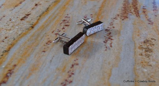 Custom Made Custom Cufflinks In Your Name!