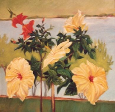 Custom Made Painting:   Hibiscus By Maggie Schmidt