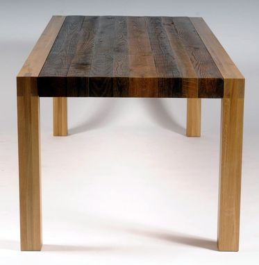 Custom Made Alamance Dining Table - Reclaimed Wood - Southern Elegance