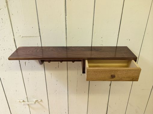 Custom Made Hanging Storage Shelf