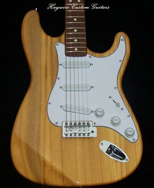 Custom Made Haywire Custom Shop  Extra-Light 5 Lb.Stratocaster Guitar+Srv Pickups+Treble Bleed Circuit