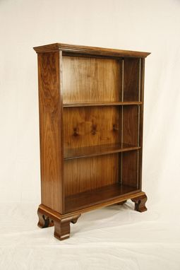Custom Made Chippendale Bookcase