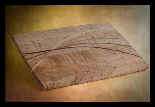 Custom Made Designer Hard Maple Cutting Boards With Custom Inlay