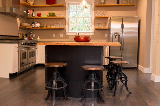 Custom Made Barn Wood Countertop