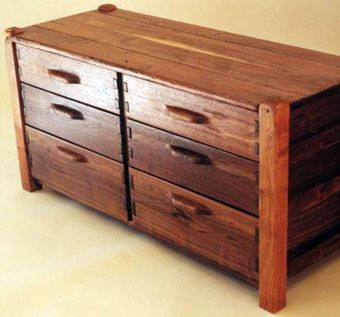 Custom Made Low Dresser