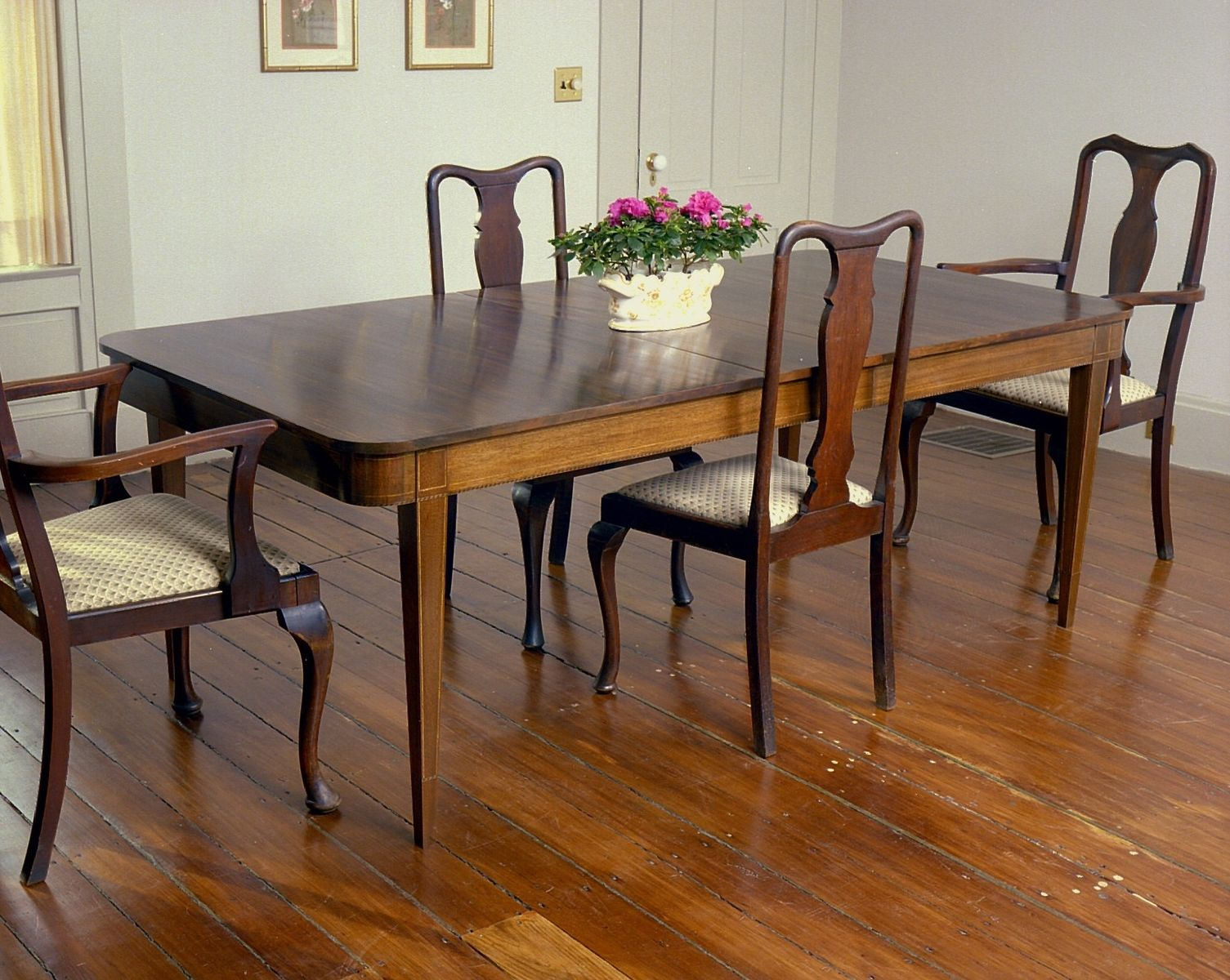 Custom Made Schwindt Hepplewhite Dining Table