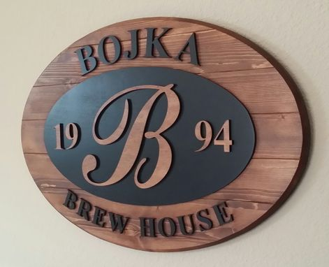 Custom Made Brewery Signs: Focal Point Signs Albuquerque