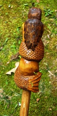 Custom Made Mermaid Walking Stick