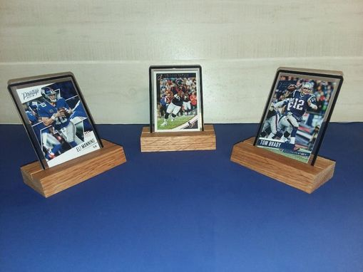 Custom Made Collectable Trading Card Display (3 Set)