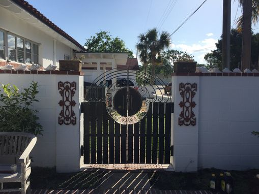 Custom Made Ornamental Gates And Fencing