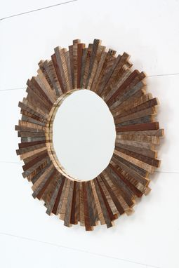 Custom Made Sunburst Mirror 21