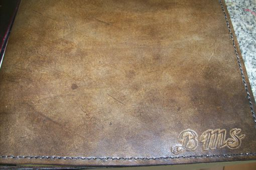 Custom Made Custom Leather Portfolio Legal Size With Personalization