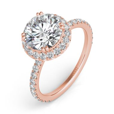 Custom Made Rose Gold Engagement Ring