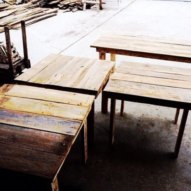 Custom Made City Pub Tables
