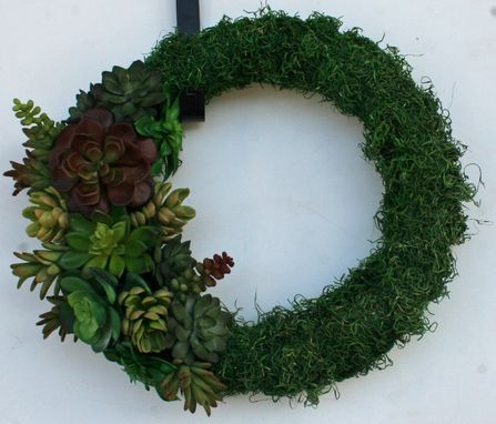 Custom Made Succulent Wreath