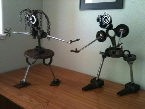 Custom Made Robot Sculptures