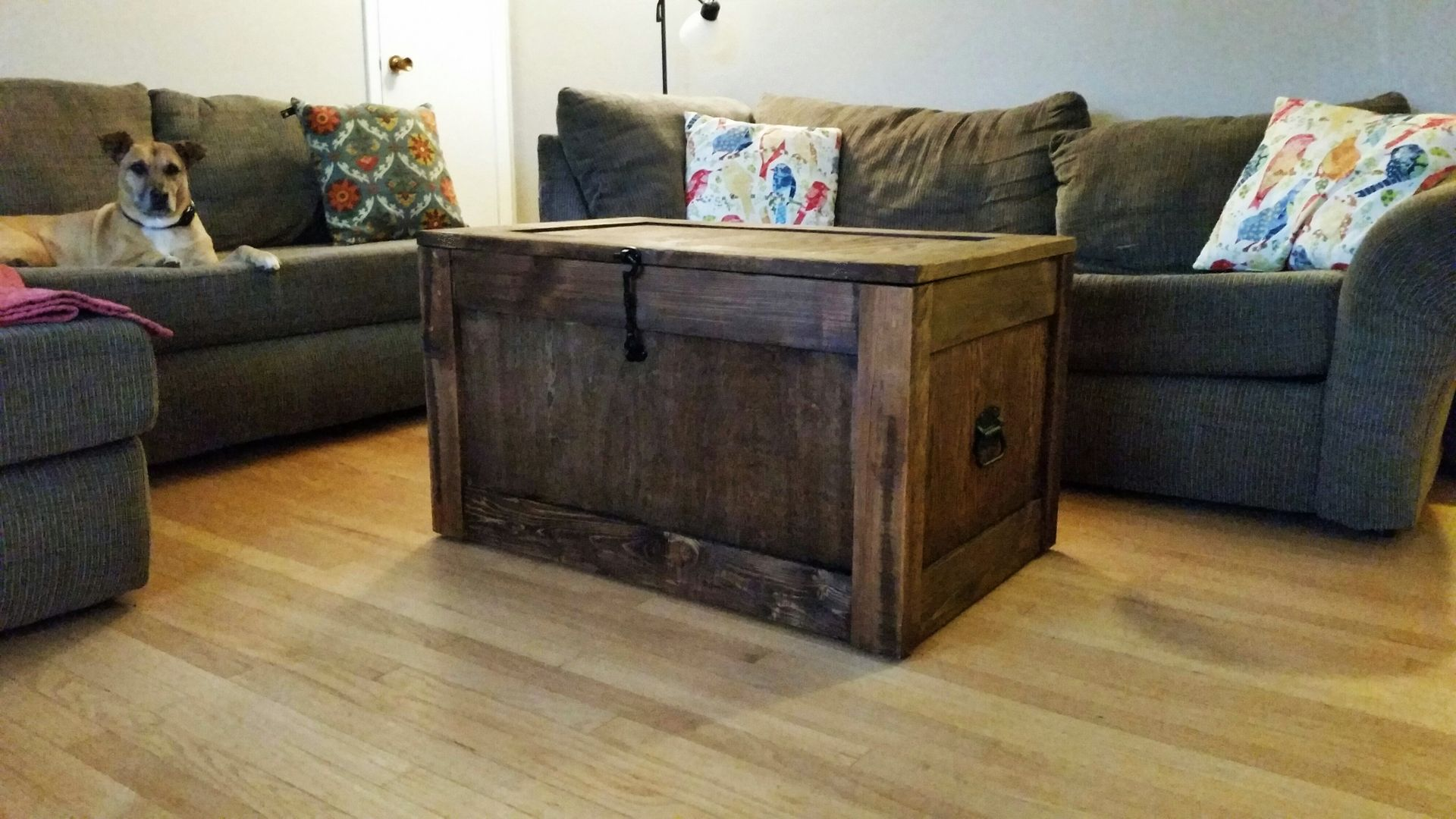 Custom Made Barnwood  Trunks Chests Steamer Trunk Coffee Table Storage Buy a Handmade