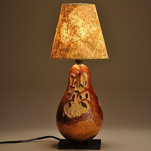 Custom Gourd Lamp Tree Design By Gourgeous Creations