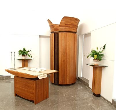 Custom Made Contemporary Synagogue Furnishings
