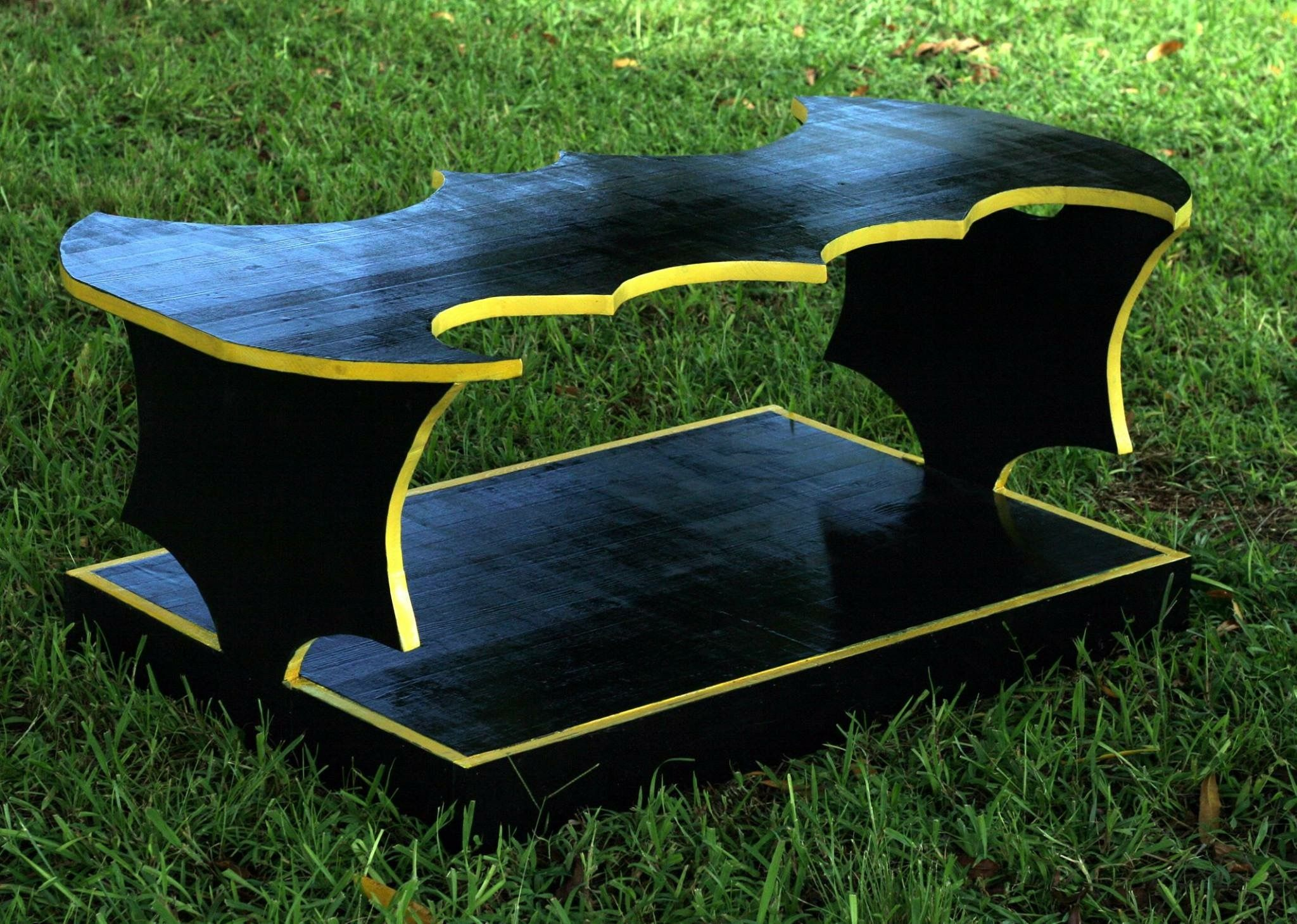 Buy a Handmade Batman Coffee Table made to order from Elons