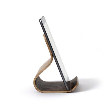 Custom Made Ray Bent Plywood Tablet Stand