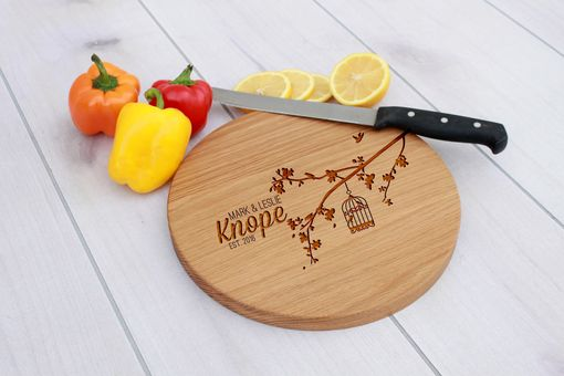 Custom Made Personalized Cutting Board, Engraved Cutting Board, Custom Wedding Gift – Cbr-Wo-Knope