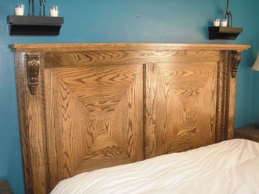 Custom Made Oak Bedroom Set