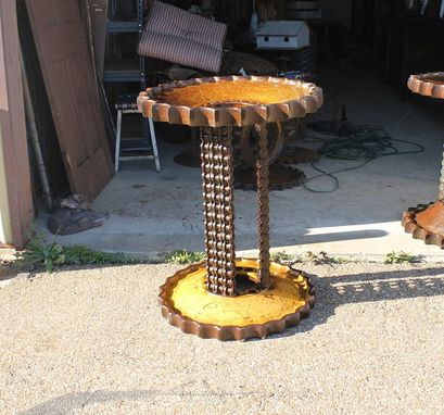 Custom Made Table Base Steampunk Style