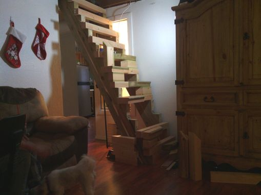 Custom Made Decorative Wooden Staircase