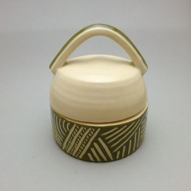 Custom Made Carved Salt Cellar