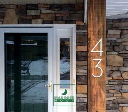 Custom Made Laser Cut - Modern House Numbers