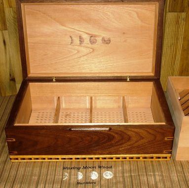"Custom Made Custom Humidor - ""Full Moon Series"""