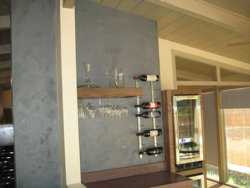 Custom Made Wine Tasting Room