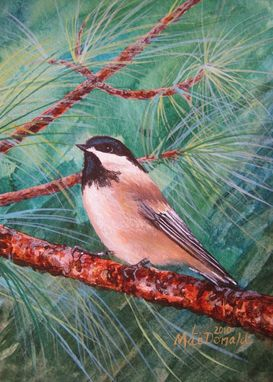 Custom Made Bird - Acrylic Painting On Your Project