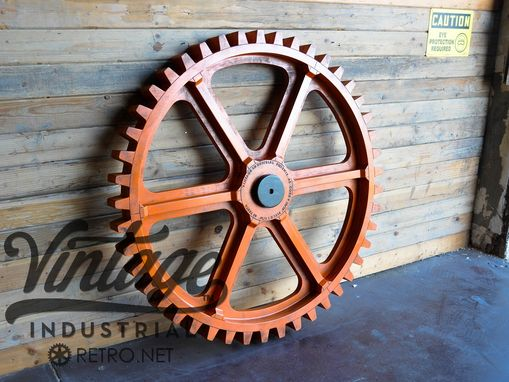 Custom Made Vintage Industrial Gear Mold / Large 54