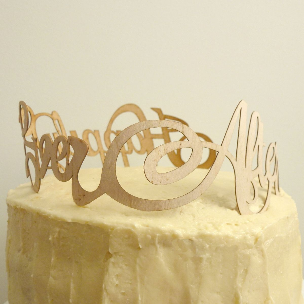 Custom Made Happily Ever After Cake Topper by By Madeline Trait ...