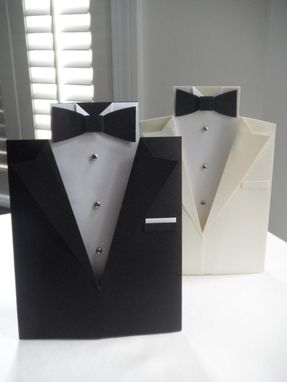 Custom Made Tuxedo Greeting Card