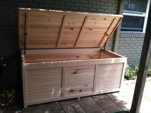 Custom Made Custom Made Outdoor Storage Box