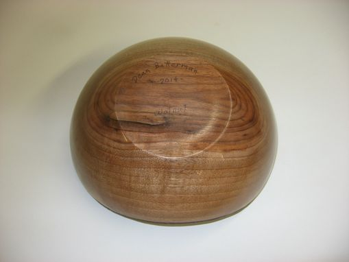 Custom Made Live Edge Walnut Bowl - 9