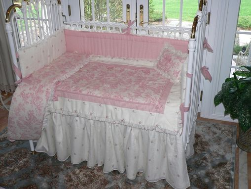 Custom Made Toile Bedding