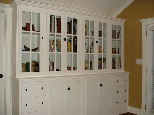 Custom Made French Country Bookcase