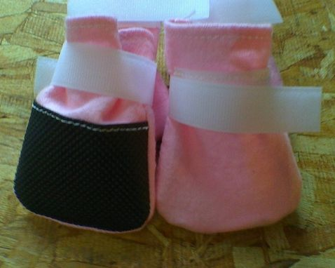 Custom Made Dog Booties /Socks For Hardwood Floors