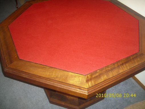 Custom Made Octagonal Poker Table
